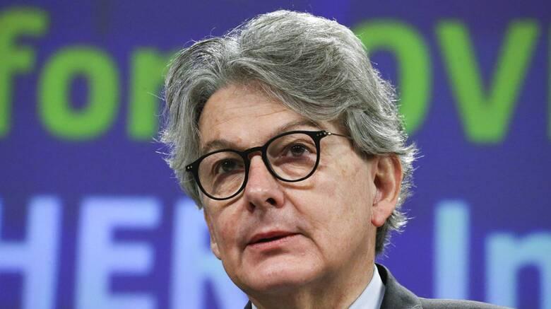 Κορωνοϊός: Η Ευρώπη μπορεί να πετύχει συλλογική ανοσία έως τις 14 Ιουλίου, λέει ο Τιερί Μπρετόν
