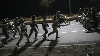 Βενεζουέλα: Μάχες μεταξύ στρατού και μελών ένοπλης οργάνωσης της Κολομβίας
