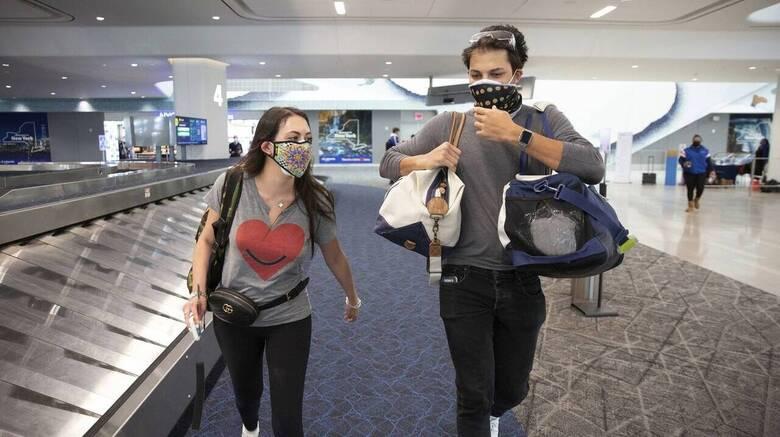 ΗΠΑ: Αναθέρμανση των αεροπορικών ταξιδιών - Ρεκόρ επιβατών, αυξάνονται οι προκρατήσεις
