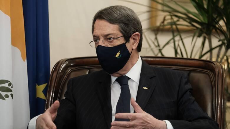 Αναστασιάδης: Η Ευρώπη έχει κάθε λόγο να ενδιαφέρεται για τη μορφή της λύσης του Κυπριακού