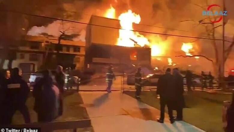 Νέα Υόρκη: Μεγάλη φωτιά σε οίκο ευγηρίας – Πληροφορίες για εγκλωβισμένους