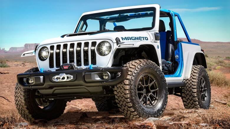 Αυτοκίνητο: Το Jeep Wrangler γίνεται και πλήρως ηλεκτρικό