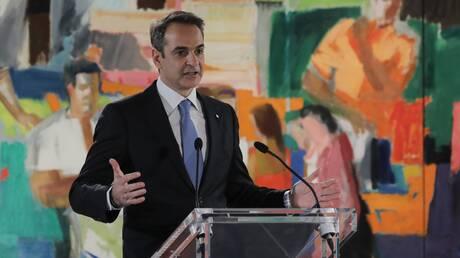 Εγκαίνια Εθνικής Πινακοθήκης: Ο Κυριάκος Μητσοτάκης υποδέχθηκε τους επίσημους προσκεκλημένους