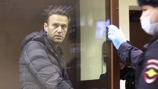 Ρωσία: Η υγεία του Ναβάλνι είναι ικανοποιητική, ανακοίνωσε η σωφρονιστική υπηρεσία