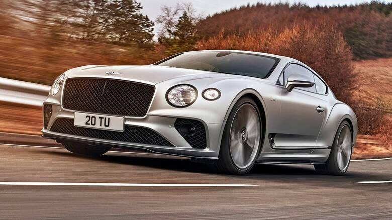 Η πολυτελέστατη GT Speed των 659 ίππων είναι η πιο δυναμική Bentley Continental