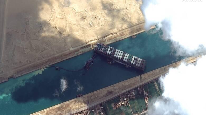 Διώρυγα του Σουέζ: Oι ΗΠΑ προσφέρουν βοήθεια στην Αίγυπτο για το πλοίο Ever Given