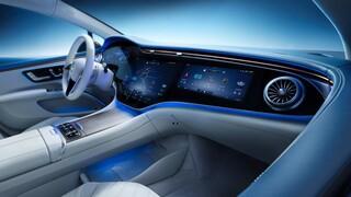 Αυτοκίνητο: Η νέα ηλεκτρική Mercedes EQS εντυπωσιάζει με το εσωτερικό της και την Hyperscreen