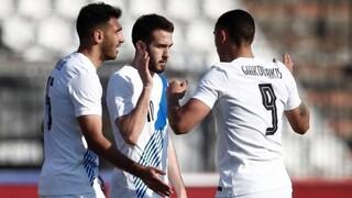 Ελλάδα-Ονδούρα 2-1: Με «διπλό» Παυλίδη και δοκιμές για Γεωργία
