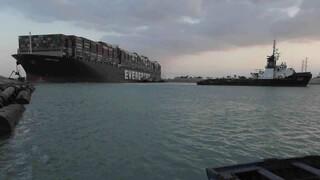 Διώρυγα του Σουέζ: Παραμένουν εγκλωβισμένα 369 πλοία, εκ των οποίων 25 πετρελαιοφόρα