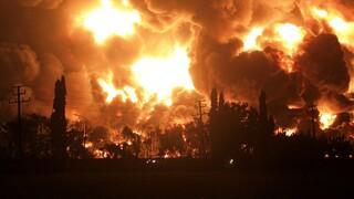 Ινδονησία: Τεράστια πυρκαγιά σε διυλιστήριο - Πέντε τραυματίες