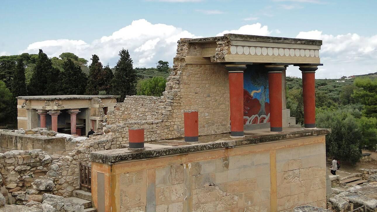 Ανοίγει και πάλι ο αρχαιολογικός χώρος της Κνωσού - Ήταν σε καραντίνα λόγω κρουσμάτων