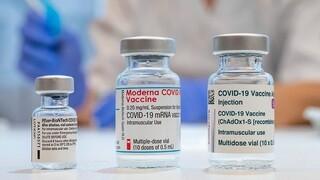 CDC: Τα εμβόλια των Pfizer, Moderna έχουν υψηλή αποτελεσματικότητα ακόμα και μετά την πρώτη δόση