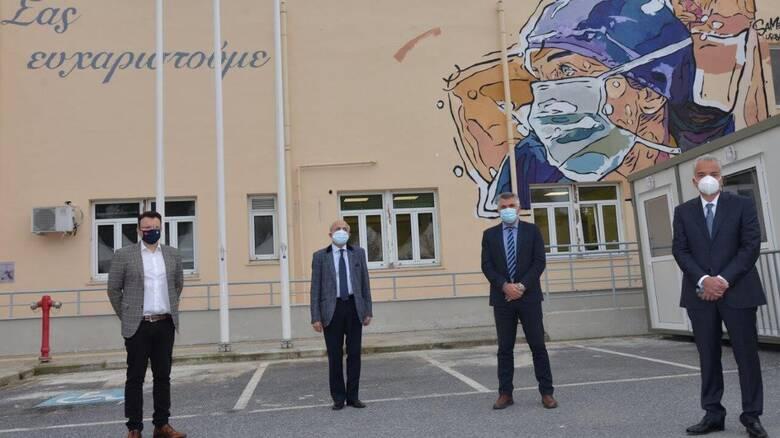 ΕΛΠΕ: Διαρκής στήριξη στο ΕΣΥ και στα νοσοκομεία της Θεσσαλονίκης στη μάχη κατά της πανδημίας