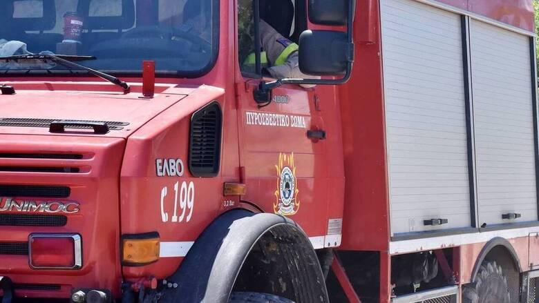 Θεσσαλονίκη: Φωτιά σε αστικό λεωφορείο στο Ωραιόκαστρο