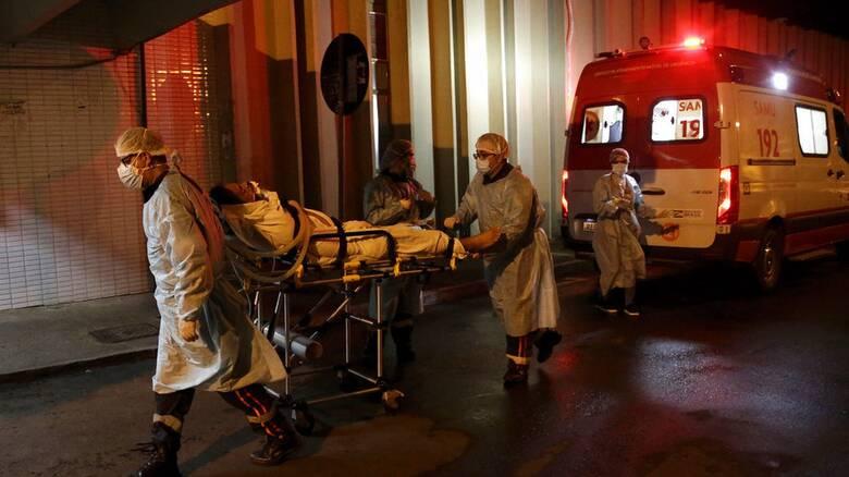 Κορωνοϊός-Βραζιλία: Ανεξέλεγκτη η πανδημία με εκατόμβες νεκρών τον Μάρτιο