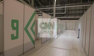 Το CNN Greece στο mega εμβολιαστικό κέντρο του Ελληνικού