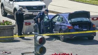 Πυροβολισμοί στο Καπιτώλιο: Αυτοκίνητο έπεσε πάνω στην πύλη - Τρεις τραυματίες