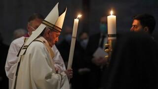 Μεγάλο Σάββατο Καθολικών: Μήνυμα ζωής και ελπίδας εν μέσω της πανδημίας από τον Πάπα Φραγκίσκο