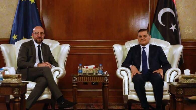 Στη Λιβύη ο Σαρλ Μισέλ με μήνυμα ευρωπαϊκής στήριξης - Ανοίγουν οι πρεσβείες της ΕΕ στην Τρίπολη