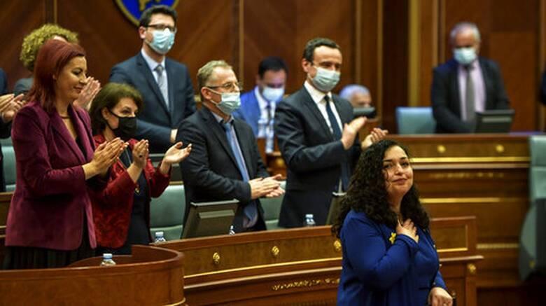 Κόσοβο: Νέα πρόεδρος εξελέγη η Βιόσα Οσμάνι