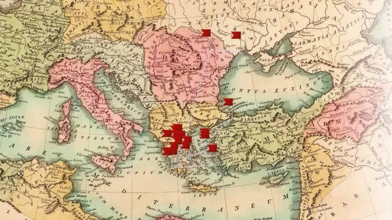Η Ελληνική Επανάσταση με μία ματιά - Διαδραστικός χάρτης