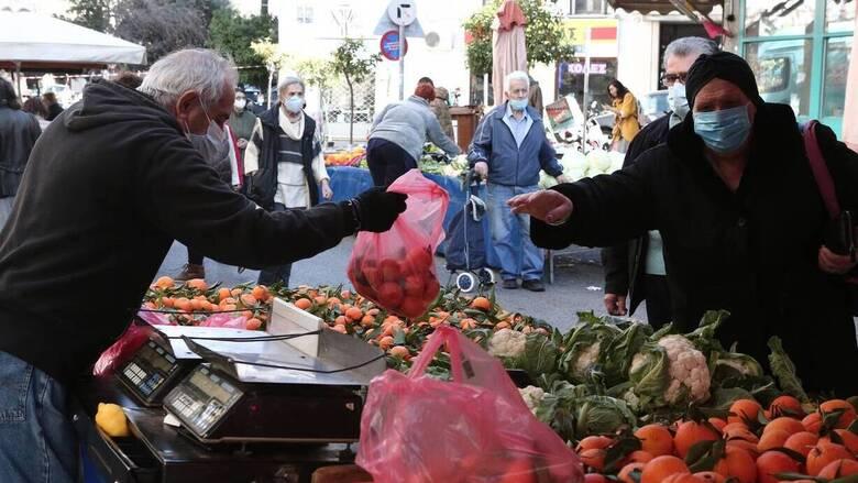 Λαϊκές αγορές: Κανονικά θα λειτουργήσουν την Τετάρτη 7 Απριλίου