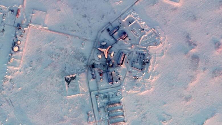 Δορυφορική… αποκάλυψη: Η στρατιωτική βάση της Ρωσίας στην Αρκτική