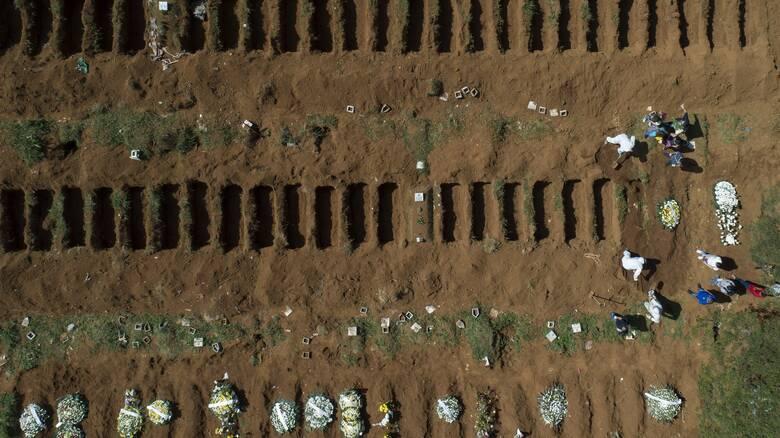 Κορωνοϊός - Βραζιλία: Νέο «μαύρο» ρεκόρ με πάνω από 4.000 νεκρούς σε μία μόνο μέρα