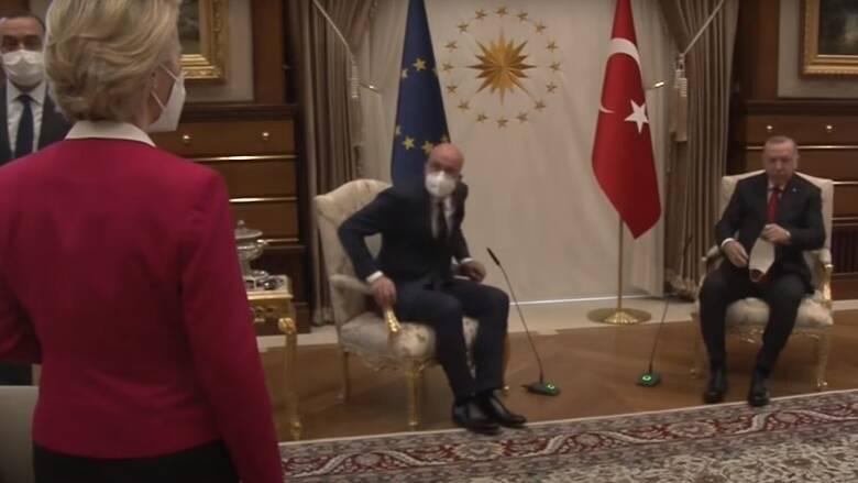 Αντιδράσεις από ΕΕ για την προσβολή Ερντογάν στην Φον ντερ Λάιεν - CNN.gr