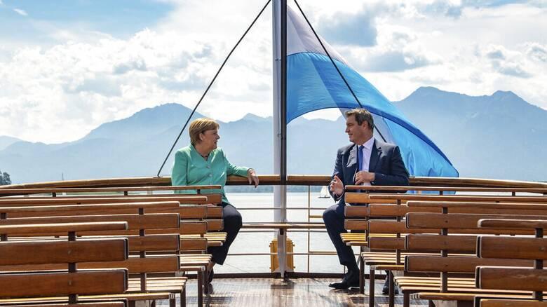 Γερμανία - Δημοσκόπηση: Προβάδισμα του Μάρκους Ζέντερ για τη διαδοχή της Μέρκελ