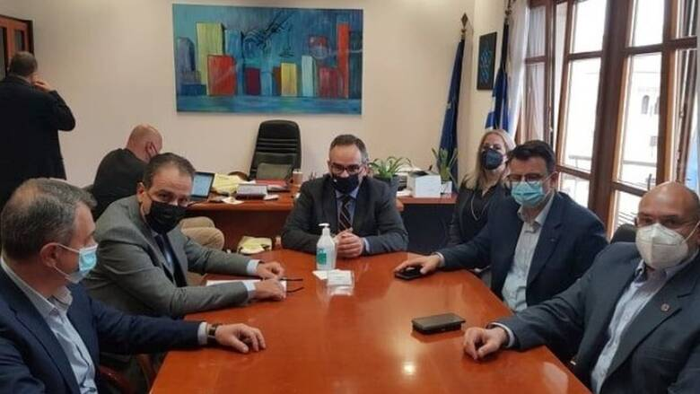 Το self testing συζητήθηκε σε σύσκεψη των υγειονομικών αρχών Β. Ελλάδας με τον Κοντοζαμάνη