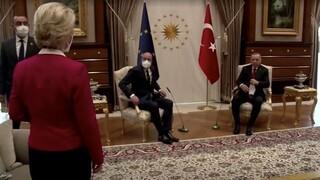 Στην ΕΕ ρίχνει το φταίξιμο η Τουρκία για το SofaGate - Δεν ζητά συγγνώμη ο Τσαβούσογλου