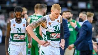 Ζαλγκίρις-Παναθηναϊκός ΟΠΑΠ 93-78: Εικόνα ντροπής στη Λιθουανία
