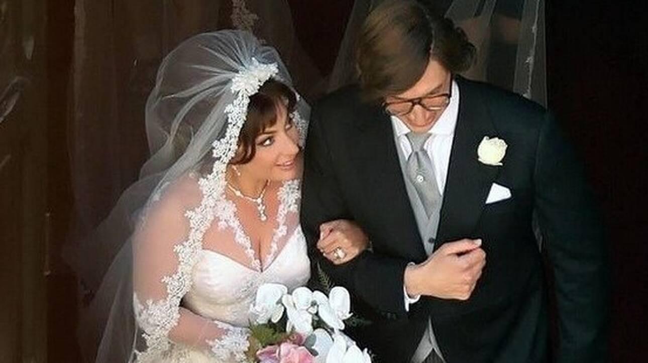 «House of Gucci»: Οι πρώτες φωτογραφίες από το «γάμο» της Lady Gaga με τον Άνταμ Ντράιβερ
