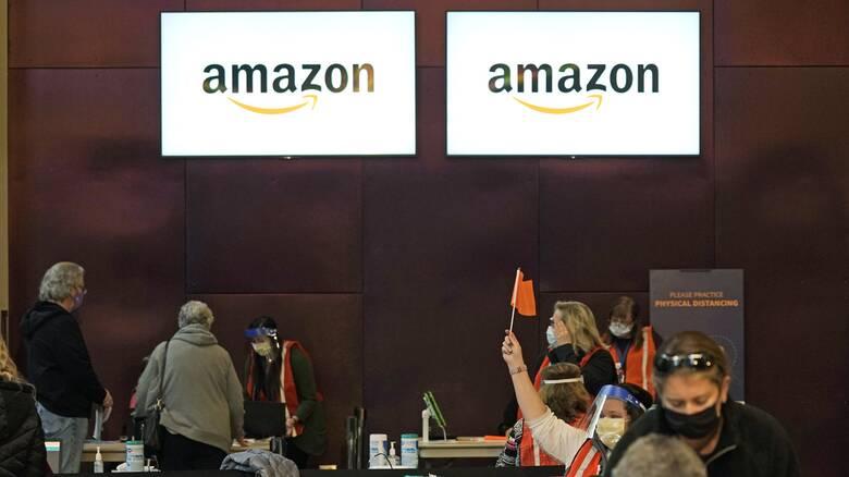 ΗΠΑ: Ναυάγησε η προσπάθεια ένταξης των εργαζομένων της Amazon σε συνδικάτο