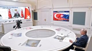 Ο Πούτιν προειδοποιεί τον Ερντογάν για τη Συνθήκη του Μοντρέ