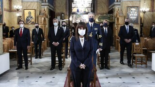 Άμφισσα: Η Κατερίνα Σακελλαροπούλου στην επέτειο απελευθέρωσης του κάστρου των Σαλώνων