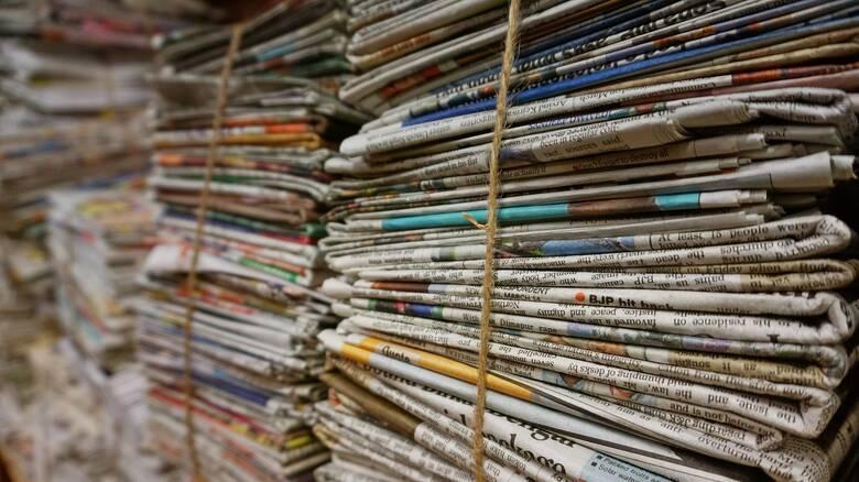 Τα πρωτοσέλιδα των κυριακάτικων εφημερίδων (11 Απριλίου)