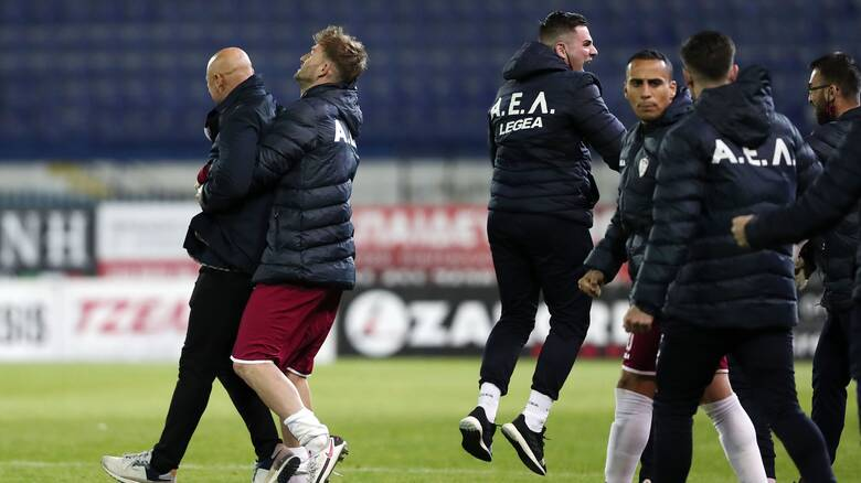 Super League: Η βαθμολογία των play out μετά το «διπλό» της ΑΕΛ