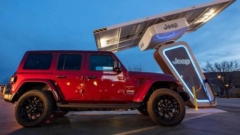 Αυτοκίνητο: Η Jeep τοποθετεί σταθμούς φόρτισης σε μονοπάτια εκτός δρόμου