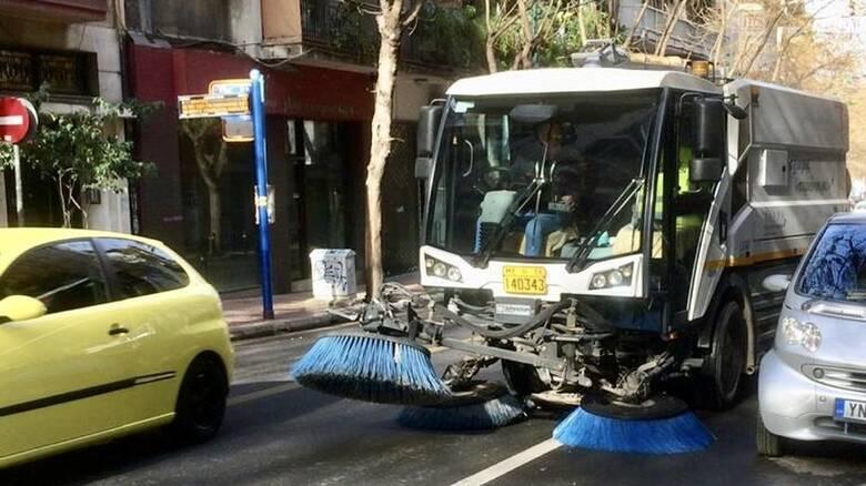 Δ. Αθηναίων: Μεγάλη δράση καθαριότητας-απολύμανσης σε σχολεία, δρόμους και πλατείες στον Άγιο Παύλο