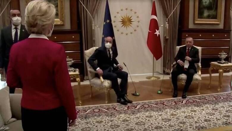 Τα «απόνερα» του Sofagate – Γαλλία: Η Τουρκία ήθελε να παγιδεύσει την Φον ντερ Λάιεν