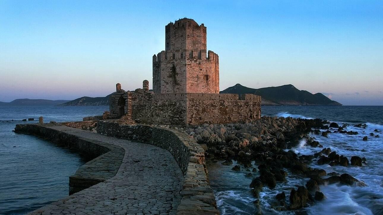 ΥΠΠΟΑ: Προχωρά στην αποκατάσταση του Κάστρου της Μεθώνης