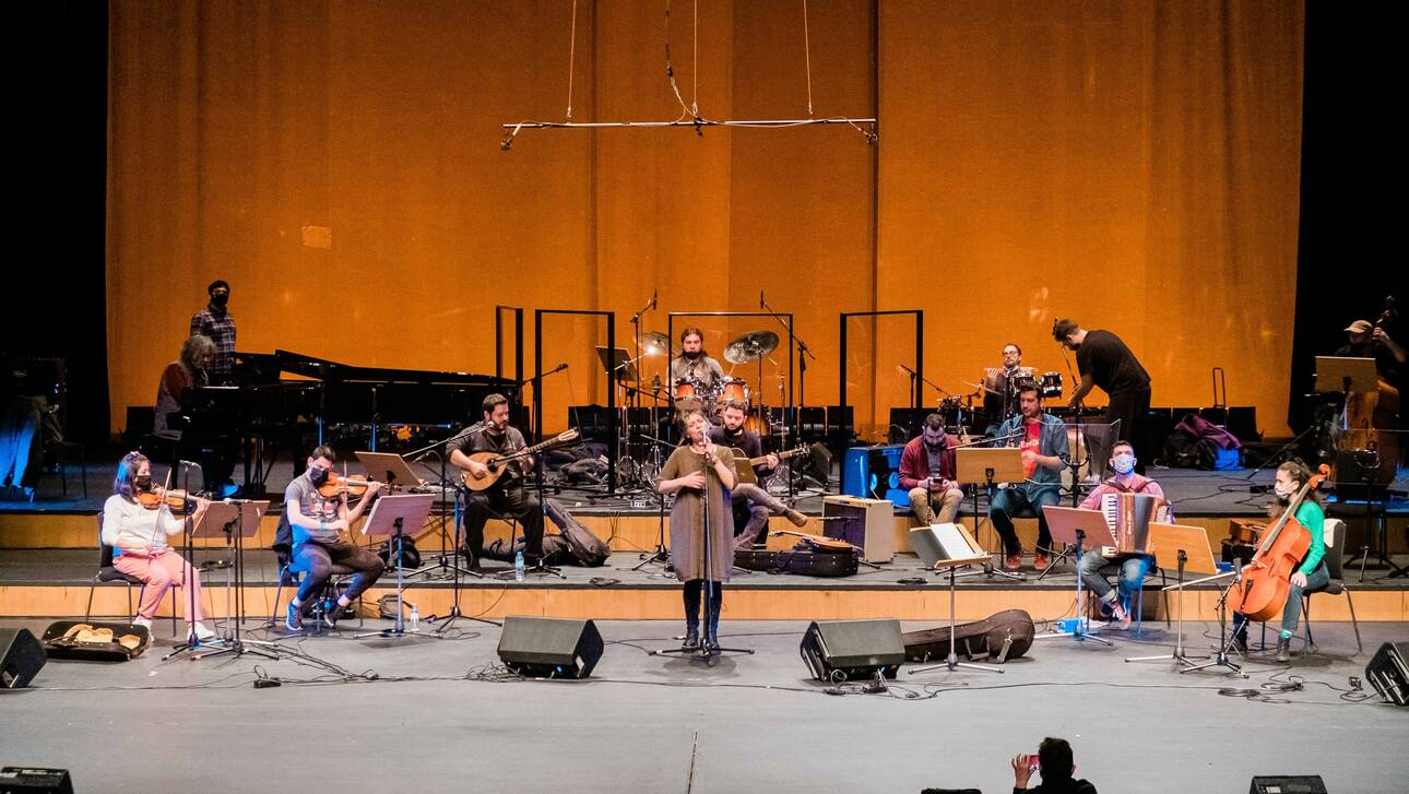 Θεσσαλονίκη: «Φύσηξε ο βαρδάρης» με 120 μουσικούς στο Μέγαρο Μουσικής Θεσσαλονίκης