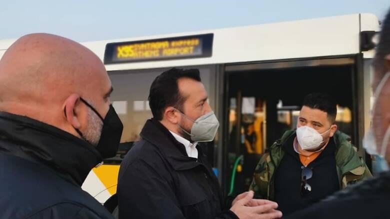 Παππάς: Τα μισά λεωφορεία που παρέλαβε η κυβέρνηση δεν εκτελούν δρομολόγια