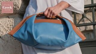 Ένα ελληνικό brand με αρχαιοελληνικό όνομα και σύγχρονη αισθητική δημιουργεί τις πιο κομψές It-bags
