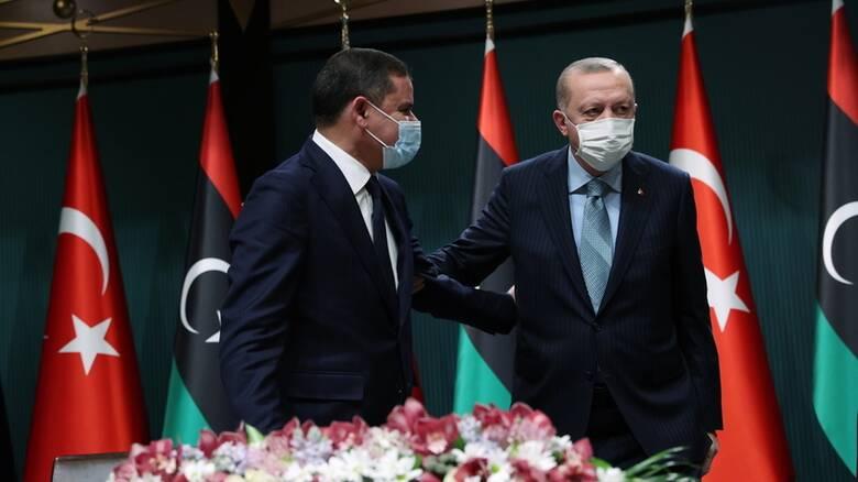 Ερντογάν: Τουρκία και Λιβύη παραμένουν δεσμευμένες στο «μνημόνιο» για την ΑΟΖ