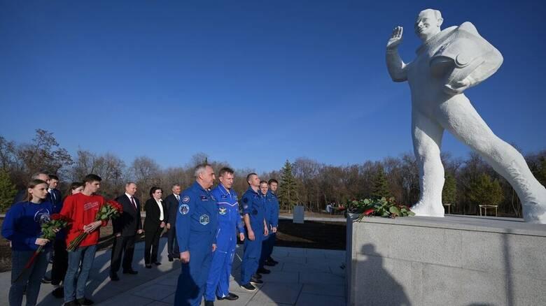 Ρωσία: Εορτασμοί για τα 60 χρόνια από την πτήση του Γιούρι Γκαγκάριν στο διάστημα