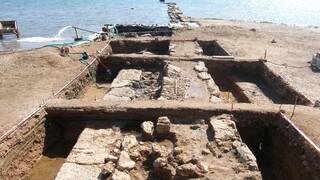 Σαλαμίνα: Βρέθηκε τμήμα του τείχους της Κλασικής εποχής σε αρχαιολογική έρευνα