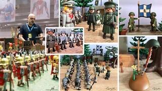 Καβάλα: Η Μάχη των Οχυρών σ' ένα εντυπωσιακό διόραμα με playmobil
